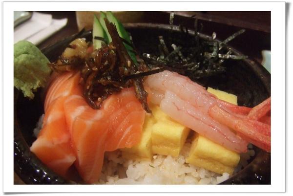 20090129 [台北] 漁僮小舖-甜蝦鮭魚肚丼.jpg