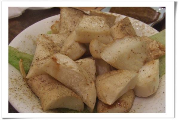 20090129 [台北] 漁僮小舖-燒烤杏鮑菇.jpg