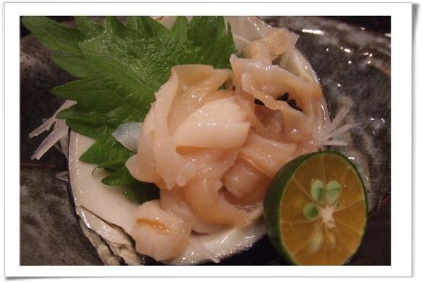 20090627 [台北] 玄海壽司居酒屋- 北寄貝.jpg