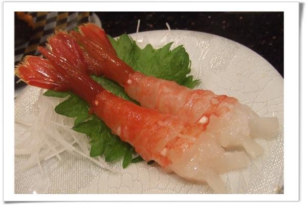 20090627 [台北] 玄海壽司居酒屋- 牡丹蝦.jpg