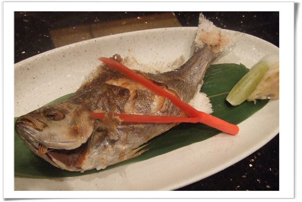 20090627 [台北] 玄海壽司居酒屋- 烤青雞魚.jpg