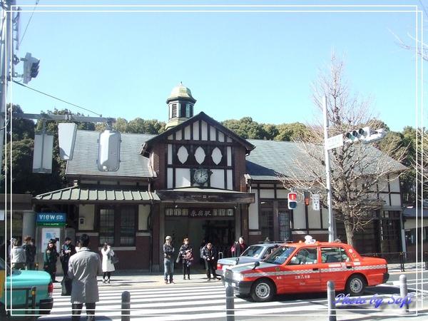 JR原宿站