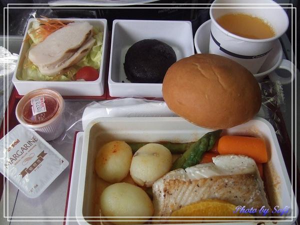 華航飛機餐-低卡路里餐