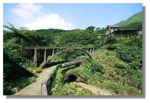 金瓜石水圳橋