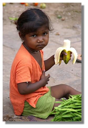 印度貧苦的小孩