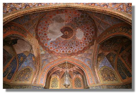 阿克巴大帝陵寢內部