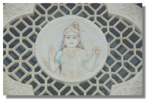 印度廟外之雕刻