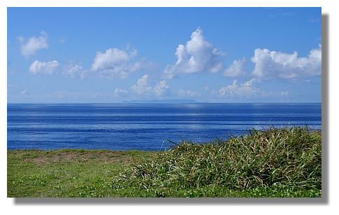 從綠島遠眺蘭嶼