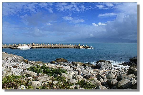 基隆嶼上的碼頭