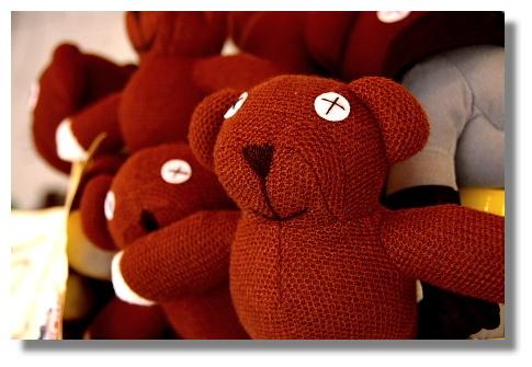 可愛小熊玩偶