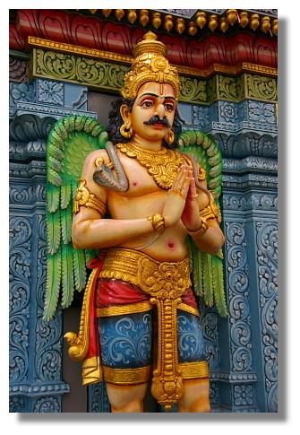 印度廟內的神像