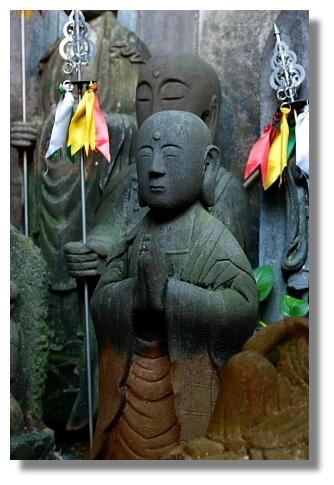 台北天后宮內的地藏王石像