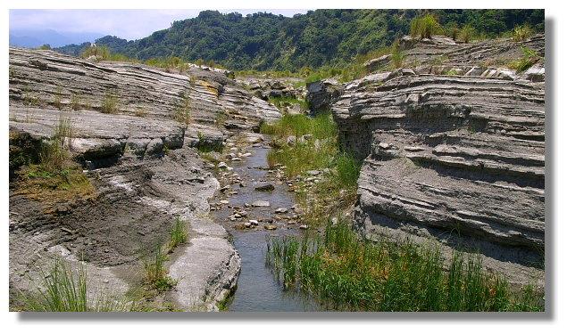 苗栗大安溪峽谷