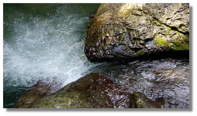 中坑溪溪流