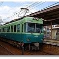 京阪電車石山坂本線上運行的電車