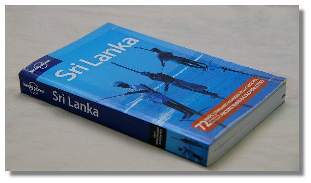 向友人借的斯里蘭卡Lonely Planet旅遊書