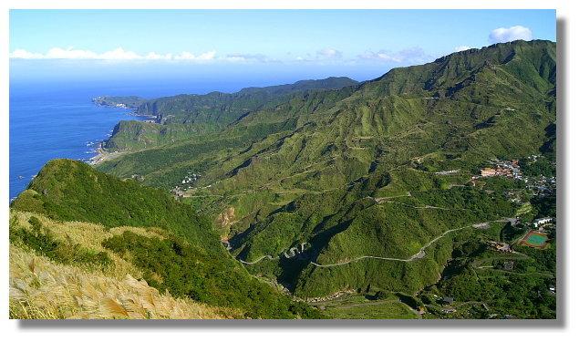 基隆山山頂景觀