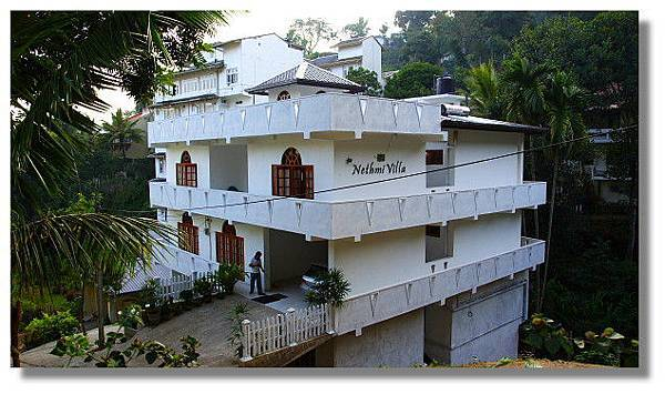 第一晚在Kandy投宿的旅店:Nethmi Villa