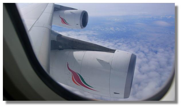 斯里蘭卡航空A340客機