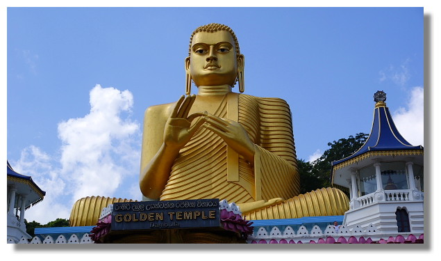 丹布拉金廟(Dambulla Golden Temple)