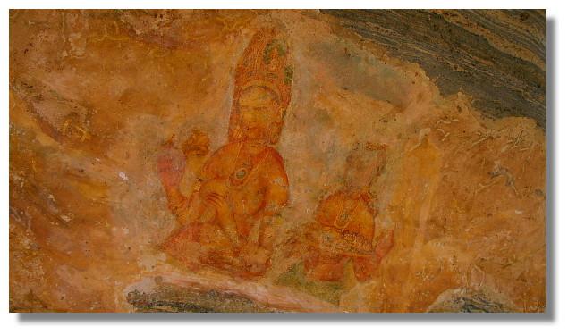 Sigiriya獅子岩壁畫