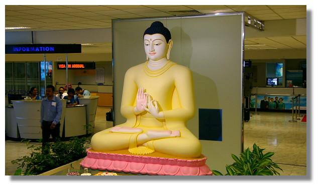 可倫坡機場一景