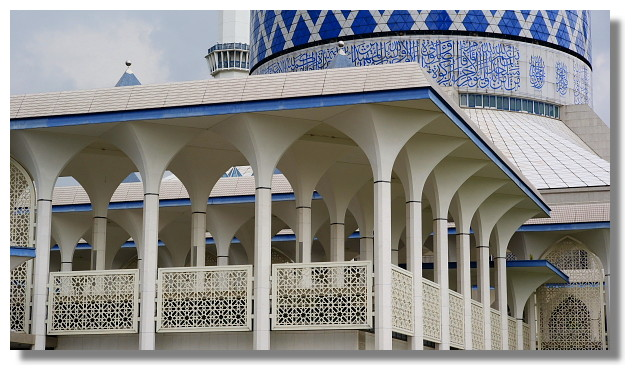 Masjid Sultan Salahuddin Abdul Aziz Shah(藍色清真寺)