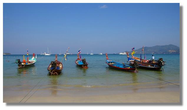 普吉島巴東海灘