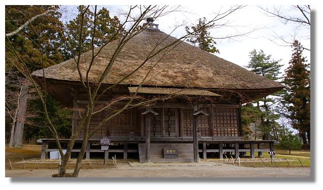 平泉毛越寺常行堂