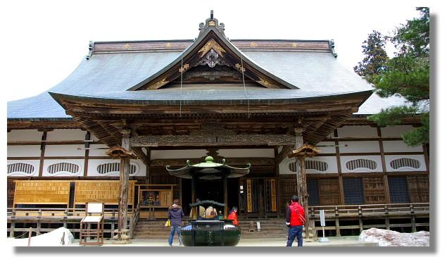 平泉中尊寺本堂