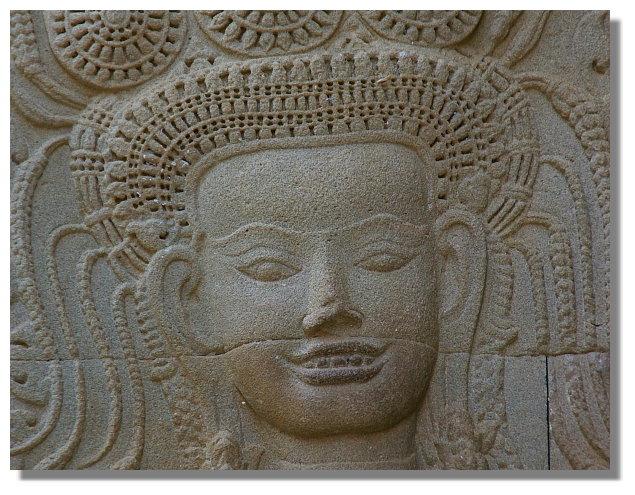 吳哥寺石雕