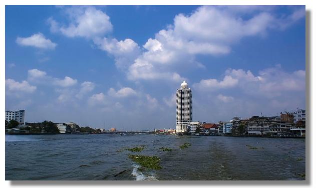 曼谷昭披耶河風光