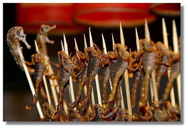 北京街頭蠍子燒烤