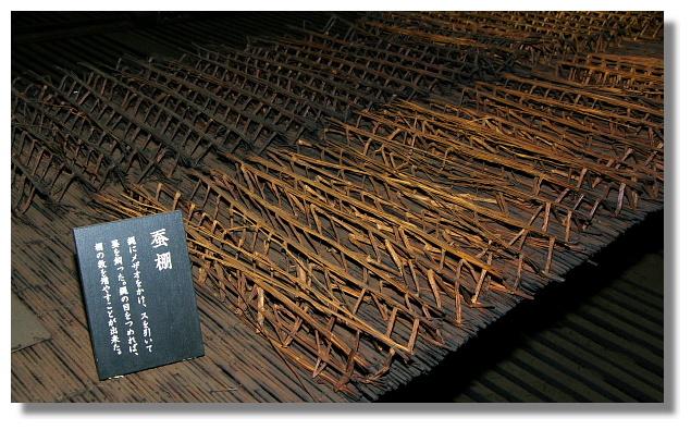 白川鄉合掌屋內養蠶用的架子