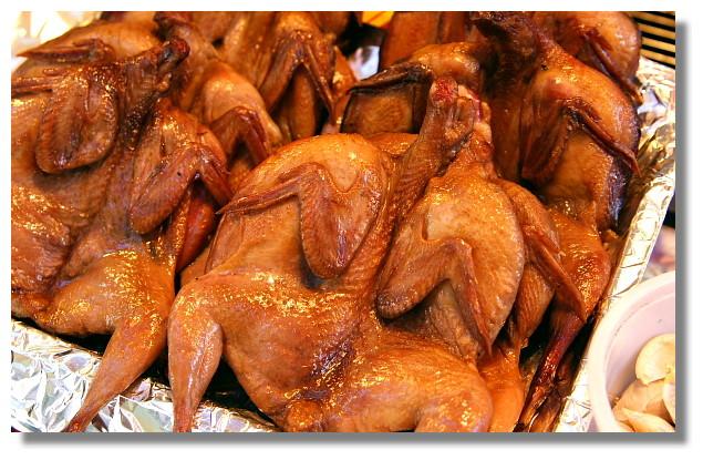 烏來老街烤山雞