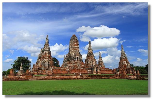 大城 Wat Chai Watthanaram