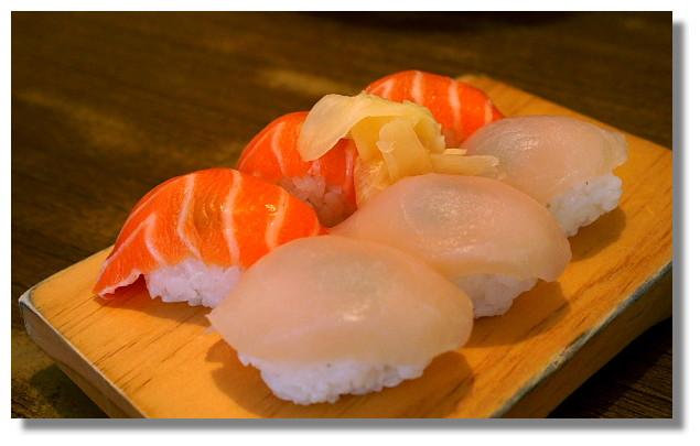 中原大學美味屋生魚片握壽司