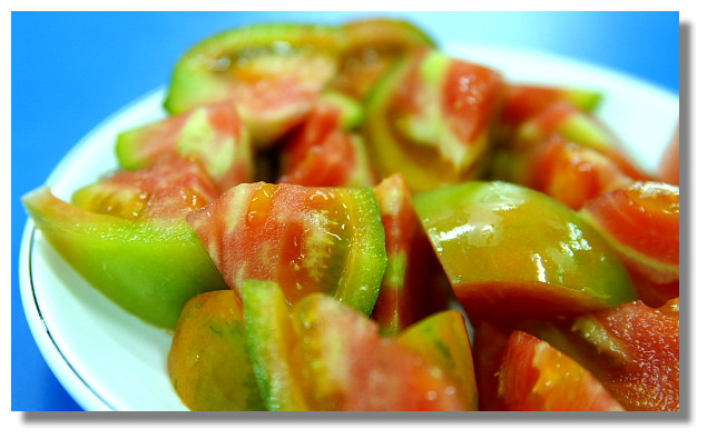 南部蕃茄切盤