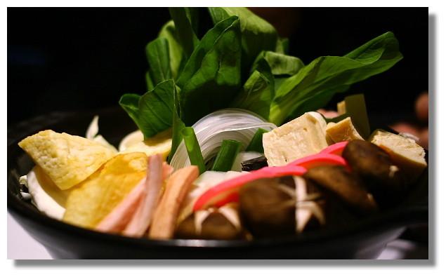 名流湯村之五行蔬菜鍋