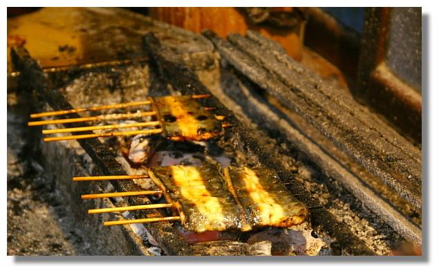 色川鰻魚飯