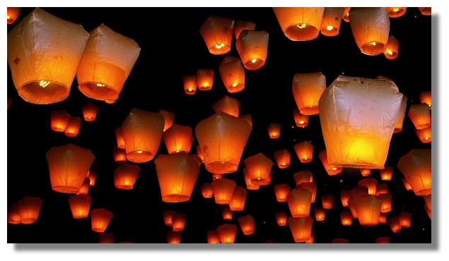 2010年北縣平溪天燈節(十分天燈廣場)