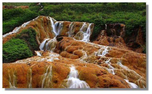 金瓜石黃金瀑布