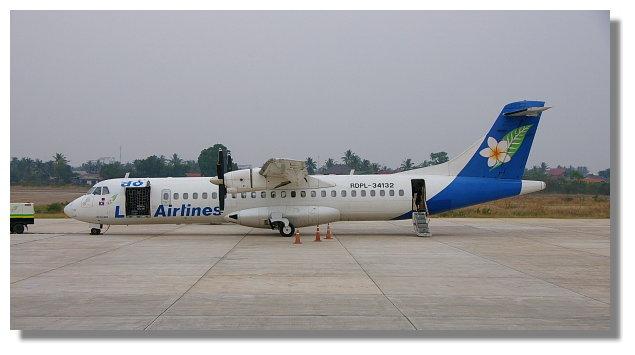 搭寮國航空前往柬埔寨