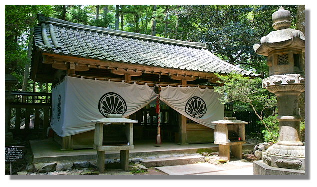 京都鞍馬寺魔王殿