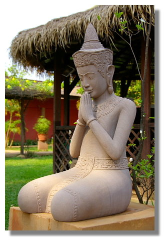 吳哥風格石雕