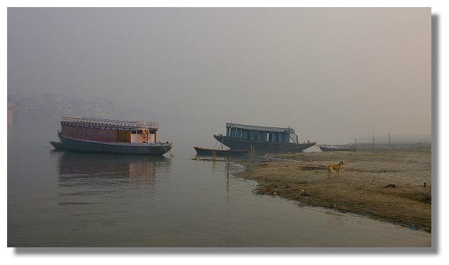 瓦拉納西清早遊恆河