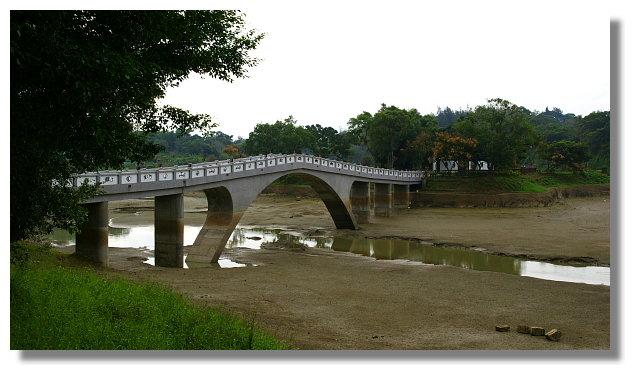 新竹青草湖映月橋