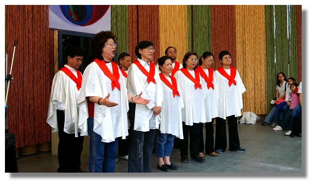 南投埔里桃米生態村紙教堂