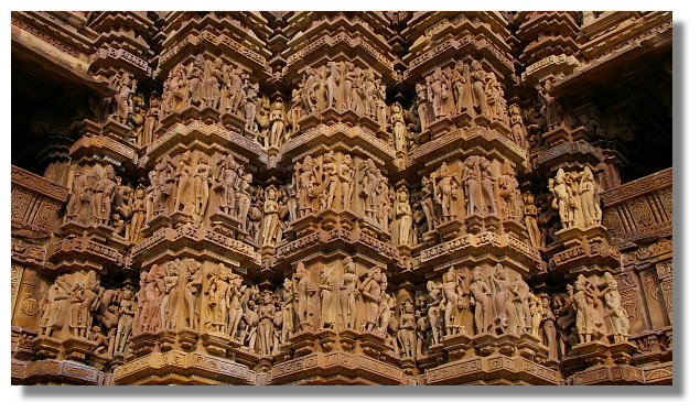 卡修拉荷西群寺廟