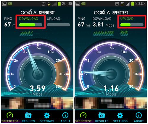 測試手機網路速度APP-P02